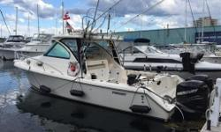 "***PLEASE CONTACT LISTING AGENT FOR AN APPOINTMENT AND EXACT LOCATION*** ""SAFETYDUDE"" is a one owner boat that was ordered from the factory with all the bells and whistles. Used primarily for light sport fishing on Lake Ontario she comes fully rigged with"