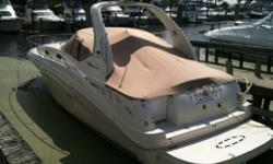 This great two owner Canadian boat is ready to take your family boating. Loaded with everything you need for extended cruising.