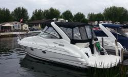Loaded 2003 Doral has been in fresh water since new! A steal at $84,995! This vessel is absolutely immaculate and is powered with twin 8.1 big block, 400 HP per engine for a total of 800 HP fuel injection Volvo dual prop with only 250 hours. You won?t