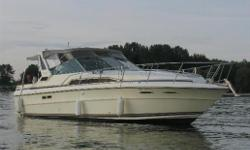 Excellent condition with updated cockpit upholstery, canvas, and more. Very well cared for vessel. Come to Crates Lagoon City to view Hull and Deck Chart Plotter, Compass, Depth Sounder, GPS, GPS Antenna, Horn(s), Navigation Lights, Engine Sync. Gauge,