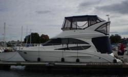 2006 Meridian 341        The Meridian 341 FBMY is a well designed functional 2 cabin layout.  This roomy Sport Sedan with European styled rakish lines, coupled with its tasteful accommodations, has spirited performance to boot,  that makes for