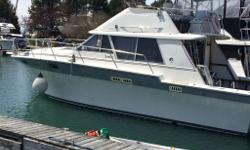 REDUCED Beautiful, Silverton Cruiser, ready for Summer Fun! This 34c offers an impressive combination of comfortable accommodations and classic styling. Built on a solid fibre-glass hull with a 12.9 foot beam, she is a comfortable ride in any type of