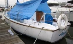 35' Yorktown Sailboat 1976 There is a chain locker forward of the double V-Berth. Aft and to port is the head with cabinets and hanging lockers to starboard. The main cabin has a U shaped settee to port with the U shaped galley port aft. There is a chart