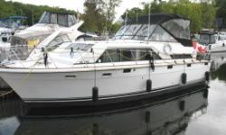 For further information on this vessel, please contact either Grant or Pat Bowlby at Harris & Ellis' Gananoque Office at 613-659-3344 or by email at grantandpat@harrisellis.com  The Trojan Tri-Cabin is a very comfortable cruiser, offering excellent space