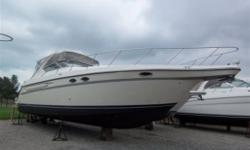 $$$ - BLOW OUT FALL PRICE....MAKE AN OFFER - $$$ Twin Merc Horizon engines, 496 hours, new camper top and carpets, full electronics, stereo system, flat screen TV with DVD, super clean and great survey, windlass, very large cabin with walk in aft cabin