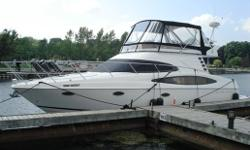 Here is an exceptional opportunity to own Regal's flagship 3880 Sedan Bridge. This one-owner, freshwater boat has been moored in a covered slip on Lake Simcoe and has been maintained in bristol condition by knowledgeable, fastidious owners. She even comes