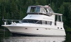 """Tranquillity"" This is a practical and affordably ­priced cruising yacht with great styling and well ­arranged interior accommodations. Her two stateroom floorplan is arranged with walk around queen berth aft, and double berth fore. Aft stateroom features"