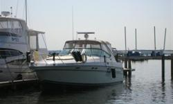 Wide beam, modern styling and diesel powered. New canvas 2008, bow and stern thrusters. Hull and Deck Autopilot, Chart Plotter, Compass, Depth Sounder, GPS, Radar, GPS Antenna, Horn(s), Navigation Lights, Engine Sync. Gauge, VHF Radio, Remote Spotlight,