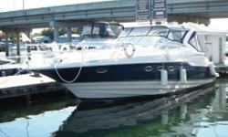 Exceptionally maintained, two-owner 4160 Regal with all the 'bells & whistles'. Equipped as you would expect with Bow thruster, generator, two-zone air/heat, cockpit icemaker, Raymarine electronics (radar, plotter, autopilot, etc). Highly sought after for