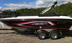 BATEAU LARSON LSR 2100 2013 100E ANNIVERSAIRES 33199$-4700$=28499$+TX REMORQUE 3400LBS FREINS CUSTOM *** ROUE DE SECOURS AVEC SUPPORT BOW COVER COCKPIT COVER DRIVER & PASS FLIP-UP SEAT DEPTH FINDER
