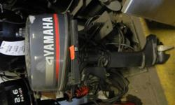 YAMAHA 4HP,D�MARREUR MANUEL ET PIED LONG, 500$ TAXES INCLUSES.
