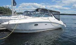 2009 Sea Ray Sundancer 270 50th Anniversary LOW LOW HOURS!!! Only 102 hours on this mint condition 29 foot luxury cruiser. 10 person capacity allows you to take the entire family, or yours friends out to enjoy open waters. Relax on the curved lounger