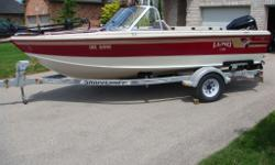 1998 Lund Tyee Boat, 18ft. 5in. long with 89in. beam This boat was originally ordered with most of the factory options available at the time it was new. Original Lund catalog pages for this boat are available on Lund?s website showing the standard and