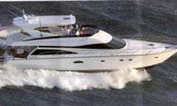 "Neptunus 62' Motoryacht Lucy Belle 2006 Total Hours 650 Length - 65' 4"" Beam - 16' 7"" Draft - 5' 0"" Displacement - 65,000 Lbs Fuel - 1050 Gallons Fresh Water - 230 Black Water - 110 Engines - (2) Caterpillar C18 - 1,000 HP (Option) Cat Extended Warranty 5"