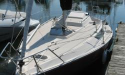 Designed in France for ocean sailing / racing & known as ?The Edel 6 GTE? it has a very distinctive deep shark fin keel. The keel is considerably narrower and deeper than the standard 665 model. It provided excellent stability, maneuverability and upwind