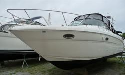 www.macdonaldmarine.com Very rare low hour 29 Amberjack, 5.0 MPI Mercruisers 92 original hours, Kohler % KW generator only 4 hours, Raymarine electronics including radar, Garmin 5212 Map Sonar, radar arch, shorepower, Toshiba flat screen TV with DVD