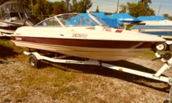 Only $6,995 plus HST. Price includes: Cutter 167 Bow Rider, Force (made by Mercury) 75 hp two stroke engine and Trailer. Call Marsh's MArina (705) 538 2285. A great boat for a family on a budget. Enjoy the water - learn to boat with out spending $30,000!