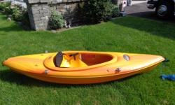 This 8 ft. Kayak is from Canadian Tire . In excellent shape and fits even a larger person. Comfy, fast and stable. We bought larger Kayaks. Price is FIRM