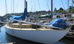 "Marconi Sloop, Live aboard/Cruiser. Mahogany/Oak, Epoxy decks, Volvo 36hp diesel, Full keel, LOA: 45ft, Beam: 12ft, Draft: 5'-6"", Disp: 34,000lbs, Sail Area: 985 sq. ft. Equipment List emailed on request. Excellent live aboard vessel. Viewing by"