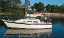 Aloha 8.2 (27), 1981, #076 Samester. This vessel is in fine condition and will bring many more years of sailing enjoyment to a new owner. Shes on the hard but comes ready to sail in the spring. Features include a new Yanmar 1GM10 inboard diesel, lots of