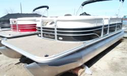One Only 2014 Sunchaser DS 22 Cruise / 90 hp Suzuki - Only $17,995 plus freight and pdi - On Sale only at Marsh's Marina (705) 538 2285. You will appreciate the large two foot front deck, the 12 person capacity, the large 25 inch tubes, change room and