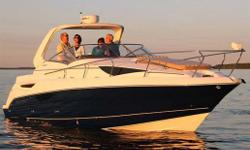 This all new 30' boat by Larson is sweeping across North America making record sales. The performance and ride is simply unrivaled. Using twin 350 Mag MPI engines, the boat tests out at over 55 mph with a full load of ten, while maintaining an incredibly