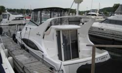 Very well equipped boat, has the larger Mercury 6.2MPI's, Proffessionaly installed extended swim platform with a seaweed system for a dinghy, Radar, GPS, Air Conditioning, Generator, upgraded entertainment system, new carpet, new sunbrella protective