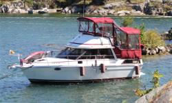 Pristine,excellent,lovingly maintained-many upgrades.Replaced engines from 2/4cyc to 2 V6's. A/C reverse Heat-Central Vac-All New Canvas-Windless (100ft chain 150ft line)-3 kW Generator-2300 watts Invertor-2 GPS's-2 VHF-Wash