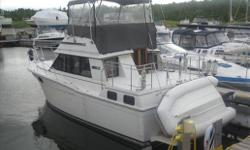 1986 Carver 32 Aft. This boat has been very well looked after, had some very nice modifications to the interior to make it look more modern. Specifications Length Overall (LOA): 384 Features Hull/Deck: Grey Canvas, Bimini, Canvas Enclosure, Pulpit, Ext.
