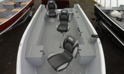 COME SEE ONTARIO'S LARGEST INDOOR LUND SHOWROOM, OPEN ALL YEAR LONG ASK US ABOUT OTHER BOAT SHOW INCENTIVES THAT MAY APPLY Package Price with 40 HP Mercury 4-Stroke on a 2014 Shoreland'r Galvanized Trailer. Colours Available: Wilderness Green (NEW),