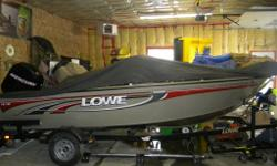 2007 Lowe Fish and ski 16.5 FT Low hours Troling motor Fish finder Ski pole In verry good condition need nothing nice family boat Privat sale