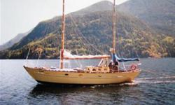 Hand-crafted custom Atkins ketch for sale. This very well constructed wooden boat sleeps 6 and was built as an offshore cruiser, for sale as-is, needs a little TLC & electrics. Surveyed by Blue Wave Marine Surveyors and appraised at $42,000; survey