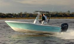 For all who demand more from a bay boat, the Pioneer 220 Bay Sport is the ultimate angler's dream! If your adventures require entering the inland lake, rivers, and bays or the tougher waters off shore, this unsinkable hybrid design gets the job done! The