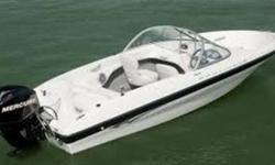 2012 Bayliner 160 Bow Rider including 2012 Karavan Galv trailer Bayline 160 BR 2012 16.1ft white with black trim equipped with Mercury Marine 60 4S EFI that has less than 50 hours. Regularly winterized by marina and stored in heated facility during