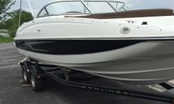 2014 Bayliner 215 Deck BoatBayliner's BIG DEAL Promotion! Right in time for the boat show, Bayliner is offering rebates on all new boats. These rebates alongside George's low boat show pricing make it the perfect time to buy! Save an additional $3000 on