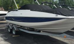 2014 Bayliner 210 Deck Boat*Pricing does not include PDI, freight, doc fees, or taxesPrice as shown includes all options listed below: - Full Windshield with Opening Center Panel- Ski Tow Pylon- Bow Well & Cockpit Cover- Preferred Equipment Package -