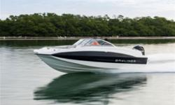 Far from basic, this entry-level design brings all the room, value and performance you need to enjoy the days on the water you crave. Fuel-efficient Mercury outboard power gets you up on plane fast - even with a maximum crew of 11 onboard. Comfortable,