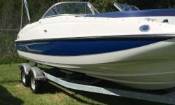 2014 Bayliner 210 Deck Boat*Pricing does not include PDI, freight, doc fees, or taxesPrice as shown includes all added options listed below:- Full Windshield with Open Center Panel - Bow Well & Cockpit Cover - Preferred Equipment Package with Extra Large