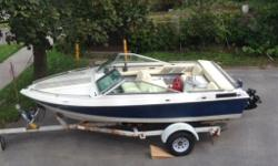 BEST OFFER! I had the boat for 2 Years and it runs well. Need a new blade, that's it! Bought a new outboard last year!