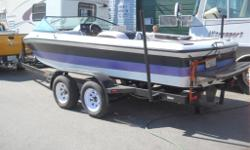 DAN'S MECHANICAL HOME OF TRUCKS AND RV'S SALES AND SERVICE SINCE 1987 TOLL FREE 1888-859-1691 ACCREDITED BBB MEMBER 1995 tournament ski boat 20ft ,direct drive V8 5.7 very powerful only 61hours, seats 6 runs like new. comes with a 2010 tandem axle trailer