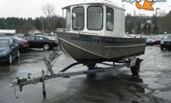 Arctic Bear Aluminum Boat, Motor and Trailer, Engine size 90, 4 stroke, Approximate overall length 21 feet, capacity 7 person, silver exterior. $7,440.00 plus $300 conveyance fee, $7,740.00 total payment obligation before taxes... Approved to be sold.