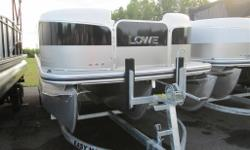 2013 LOWE X230 PONTOON BOAT COMES WITH - TANDEM AXLE GALVANIZED TRAILER WITH BRAKES - MERCURY 50 HP 4 STROKE OUTBOARD - FUSION STEREO - HYDRAULIC STEERING - BLACK BIMINI TOP - 25 TUBES WITH WAVE TAMERS AND LIFTING STRAKES - XL PACKAGE- THIRD PONTOON,