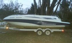 Would like to do a quick sale. Have a cottage and no need for the boat like that. 2000 Sea-Doo Sport Boats Islandia The Sea Doo Islandia is the first-ever jet-powered deckboat. Its award-winning design comfortably seats 12 people and a swing-away helm