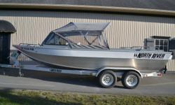 A great family boat that?s also an exceptional fishing platform, the Trapper offers the speed, safety, comfort and confidence that lets you enjoy days at the lake with the kids as much as the hours on the river fishing with your friends. Go on, shoot the