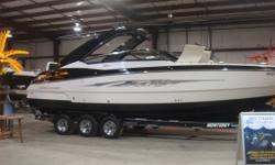 2012 Monterey 328 SS Bowrider with Twin Volvo 5.7L GXI DP JoyStick Controll VERSATILITY....This is how it's done! CUDDY AND BOWRIDER WITH ENCLOSED HEAD! Tri-Axle Phoenix Trailer Included!, Mercruiser AXIUS Joystick Control, Ray Marine Hybrid Touch Colour