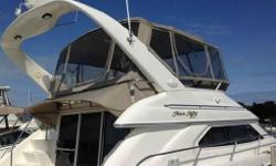 Price in US funds. Here is your chance to own a 3 stateroom freshwater vessel in immaculate shape. The 450 Express Bridge has a full beam salon providing space found on much larger yachts. Molded steps will lead you to an expansive bridge that has a walk