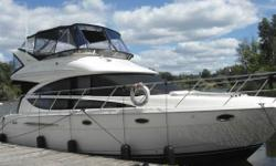 "White Hull with Black Full Camper in Great Condition Sleeps 8 with 1 Vacu-Flush Head Premium bridge electronics package includes: Northstar electronics 6000i with 6.4"" Monitor GPS, Chartplotter & 2KW radar. Vessel Management Interface with helm monitoring"