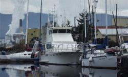 This 55' Custom build, retro fit 2004 Pilot House Yacht is located in Port Alberni on Vancouver Island for viewing. Included is a custom built dinghy with 35hp Evinrude kicker motor. Head and galley up in pilot house, as well as sleeping accommodations.