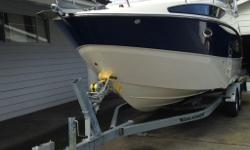 This boat is on a Brand New Roadrunner Galvanized Trailer , Brand new Lowrance GPS and fresh water wash down just installed , 2 new Batteries , The engine oil , filters and Legg were just serviced . This is AS GOOD AS NEW Offered for sale by; Granville