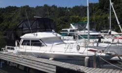 Available now. This boat is the solution how large families or two couples can make live aboard trip on a 36 footer and enjoy complete privacy. Two shower equipped heads forward and aft, with a double bed in the forward V-berth and two single bunks aft.